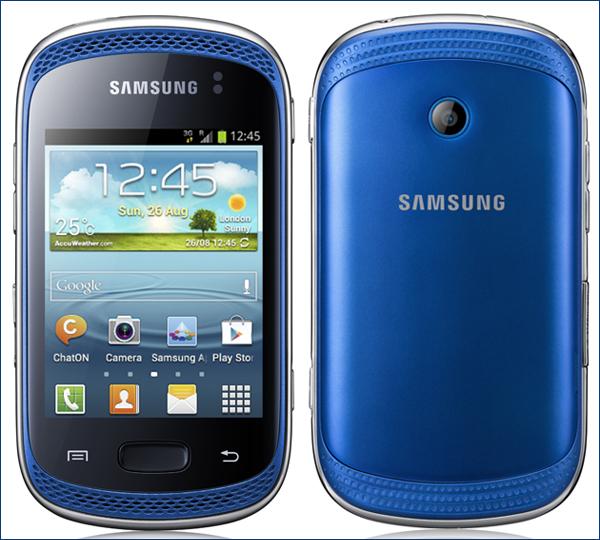 Смартфон Samsung Galaxy Music (изображение производителя