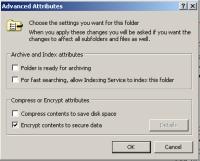 В Windows2000 и XP Professional есть функция шифрования отдельных файлов и папок, благодаря которой злоумышленник, даже скопировав важный документ, не сможет его прочесть