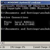 До появления WindowsXP для того чтобы определить, какие программы обмениваются данными с другими компьютерами через интернет, требовалось специальное программное обеспечение. В WindowsXP это можно сделать с помощью командной строки или Task Manager